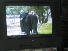 Klausens Foto SERIELLO Barack Obama in Buchenwald am 5.6.2009